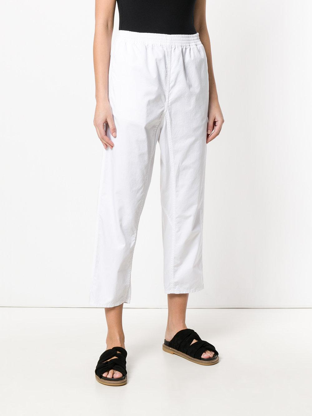 Factory Sale cropped trousers - White Maison Martin Margiela Cheap Sale The Cheapest Latest Online xwkCT0NyUH