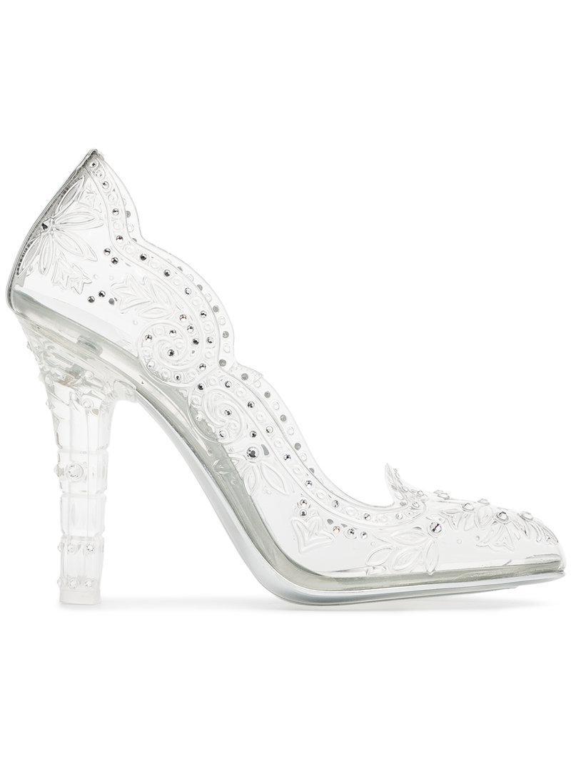Cheap Sale Sale transparent Bette 105 PVC crystal pumps Dolce & Gabbana Clearance Good Selling z217KCyPy