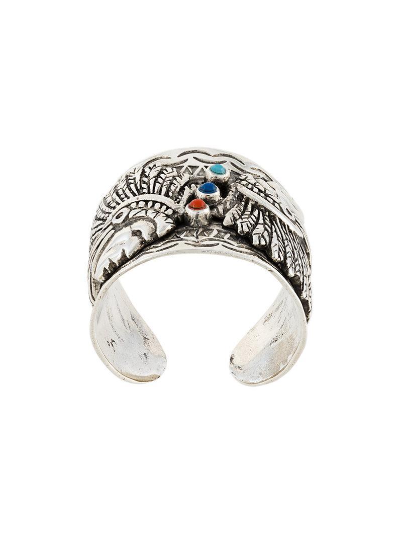 Gas Bijoux Cancun ring - Metallic Lgosb