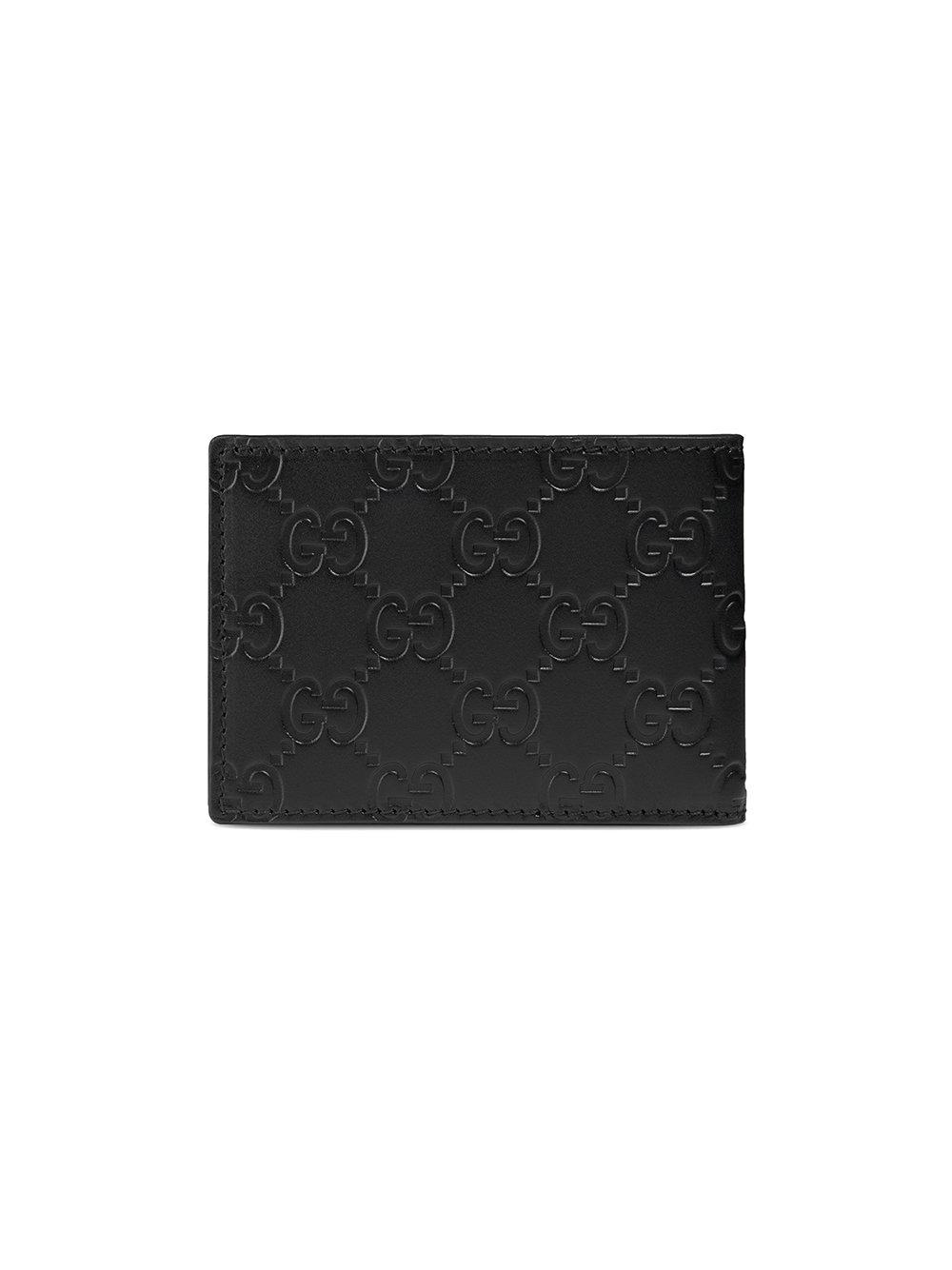 02b42f4ef3e Lyst - Gucci Signature Wallet in Black for Men - Save 33%