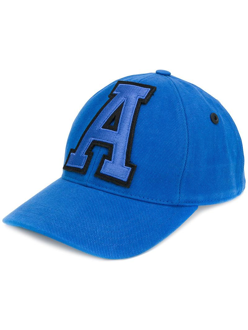 Cap With A Patch - Blue Ami fFhUsb