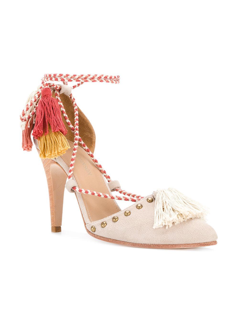 Valentina court shoes - Nude & Neutrals Ulla Johnson tZ0bkf0