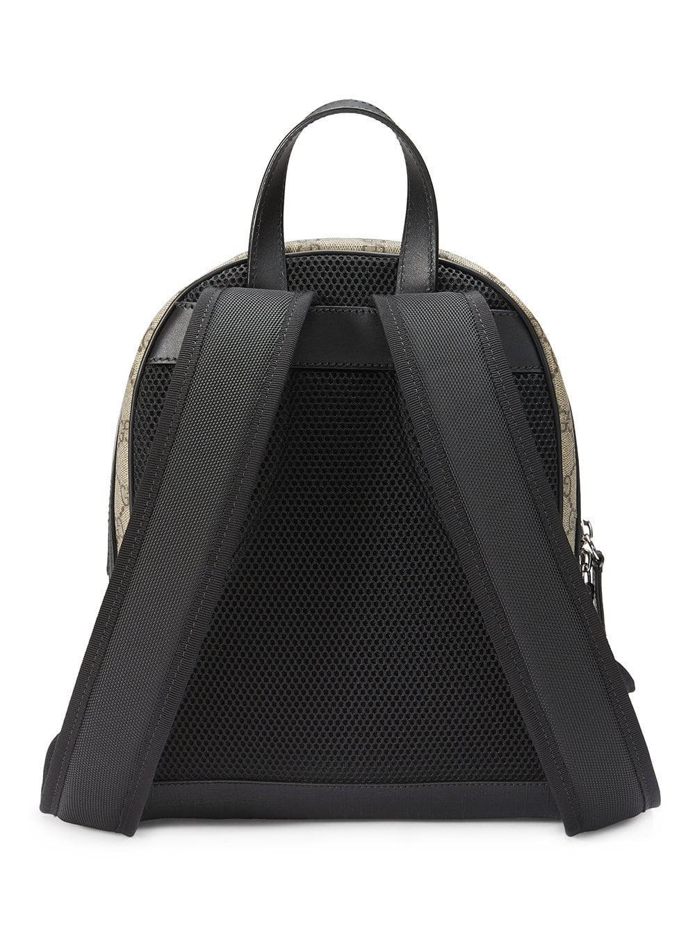7c5b3f66cc3 Gucci - Brown GG Supreme Small Backpack - Lyst. View fullscreen