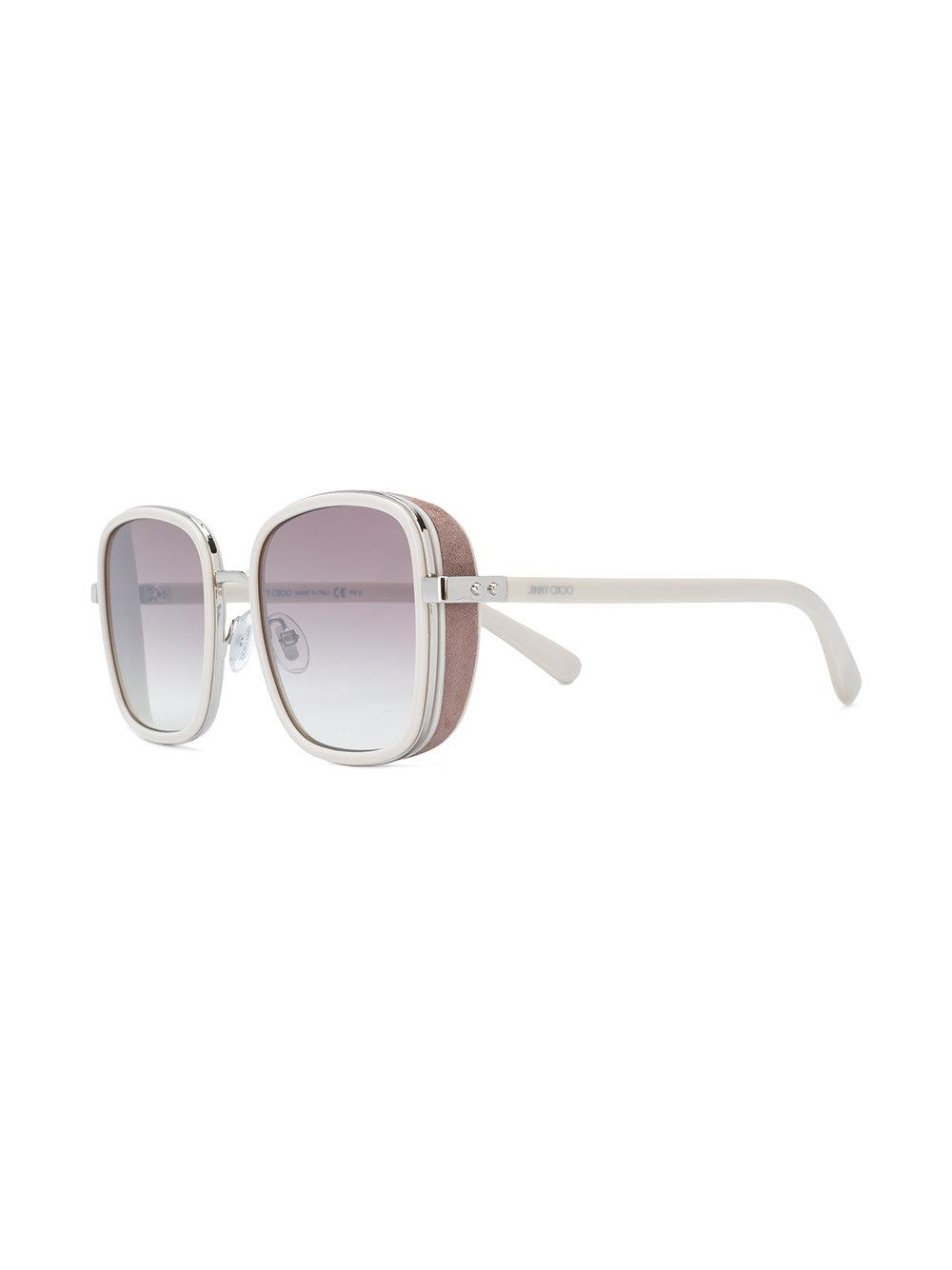 Sheen 58 sunglasses - Metallic Jimmy Choo Eyewear JehIem