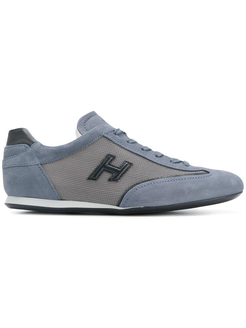 Hogan Chaussures De Sport De Maille À Pans - Bleu 9F8meC