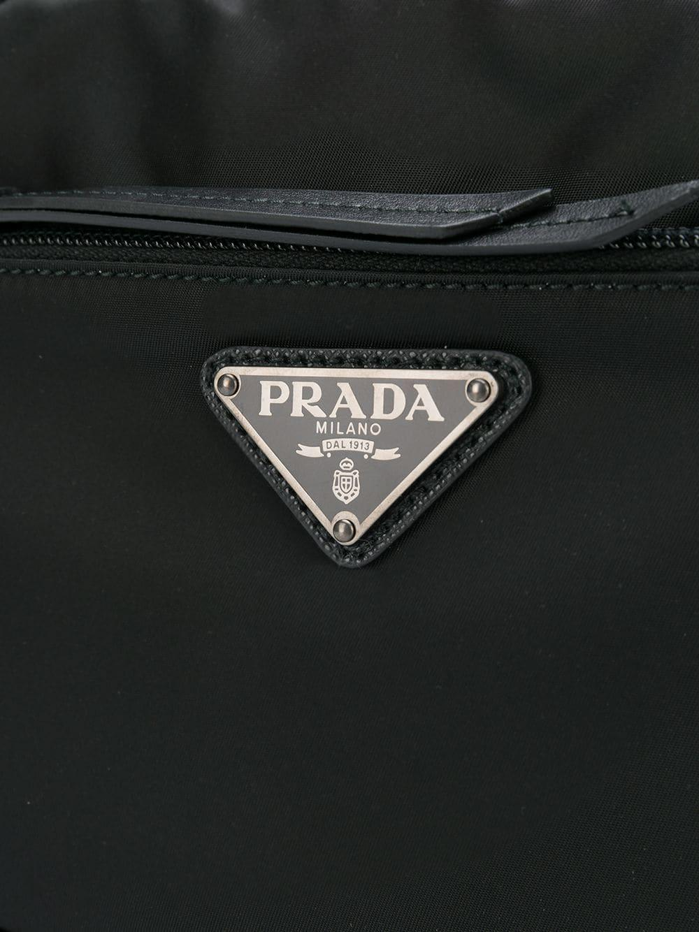 fd6e4c4e9799 Prada - Black Vela Camera Bag - Lyst. View fullscreen
