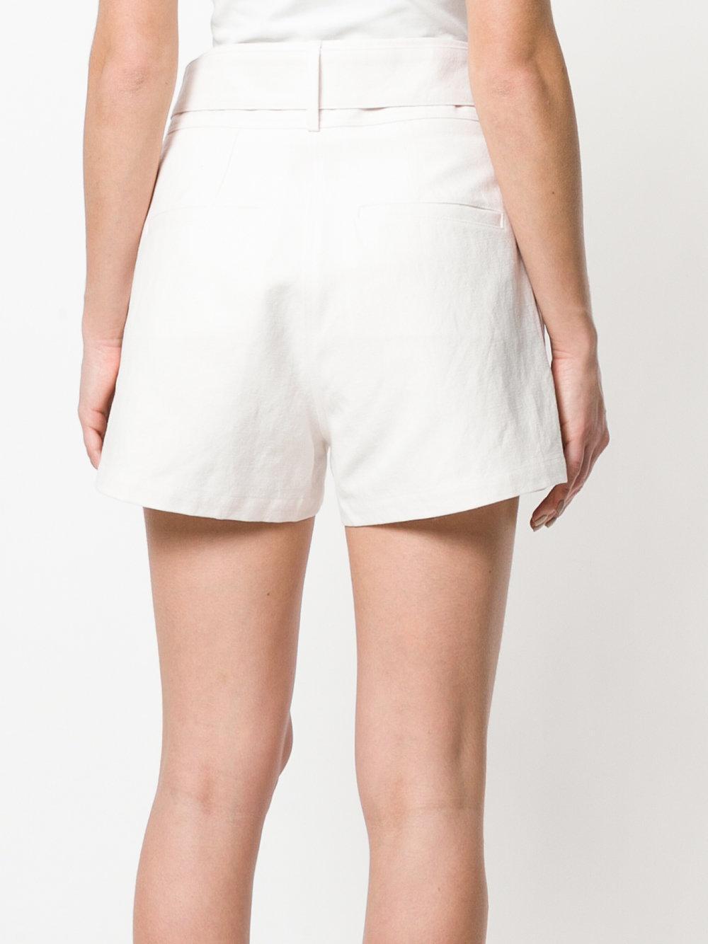 belted shorts - White Iro RNrQptV