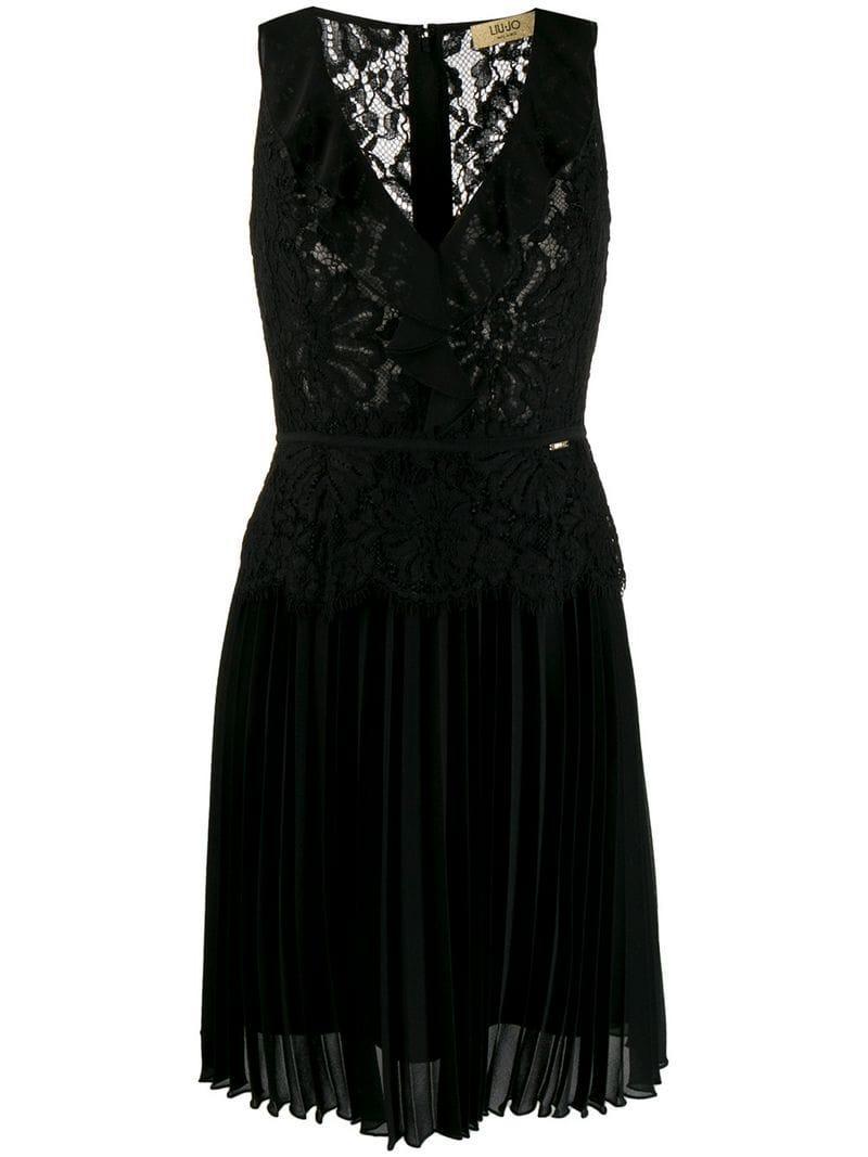 8ddfac748a2 Lyst - Liu Jo Paradise Seduction Dress in Black