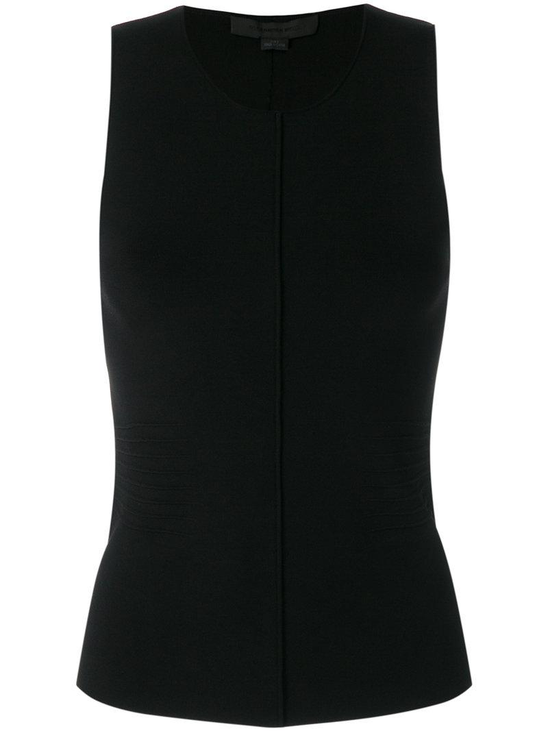 pleated detail sleeveless top - Black Alexander Wang New Arrival Fashion Excellent Cheap Online SHEXOWefK