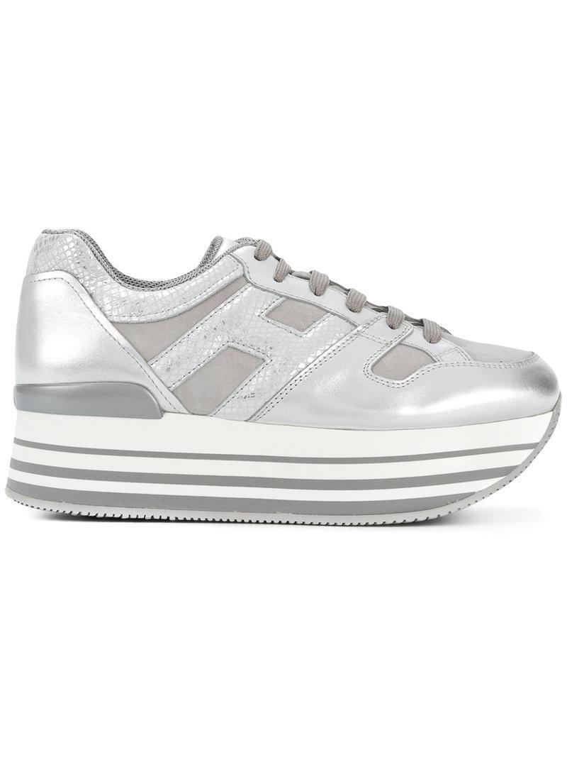 chunky heel sneakers - Metallic Hogan 9H2CmtLya