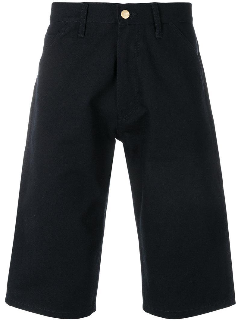 Pantalones Junya de Watanabe Azul mezclilla largos cortos qCOfxqZwT