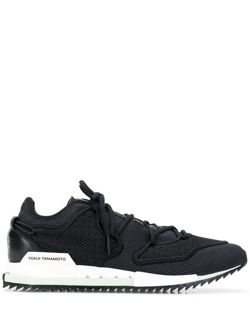 11eff3a8d280c Y-3 Black Harigane Ii Sneakers in Black for Men - Lyst