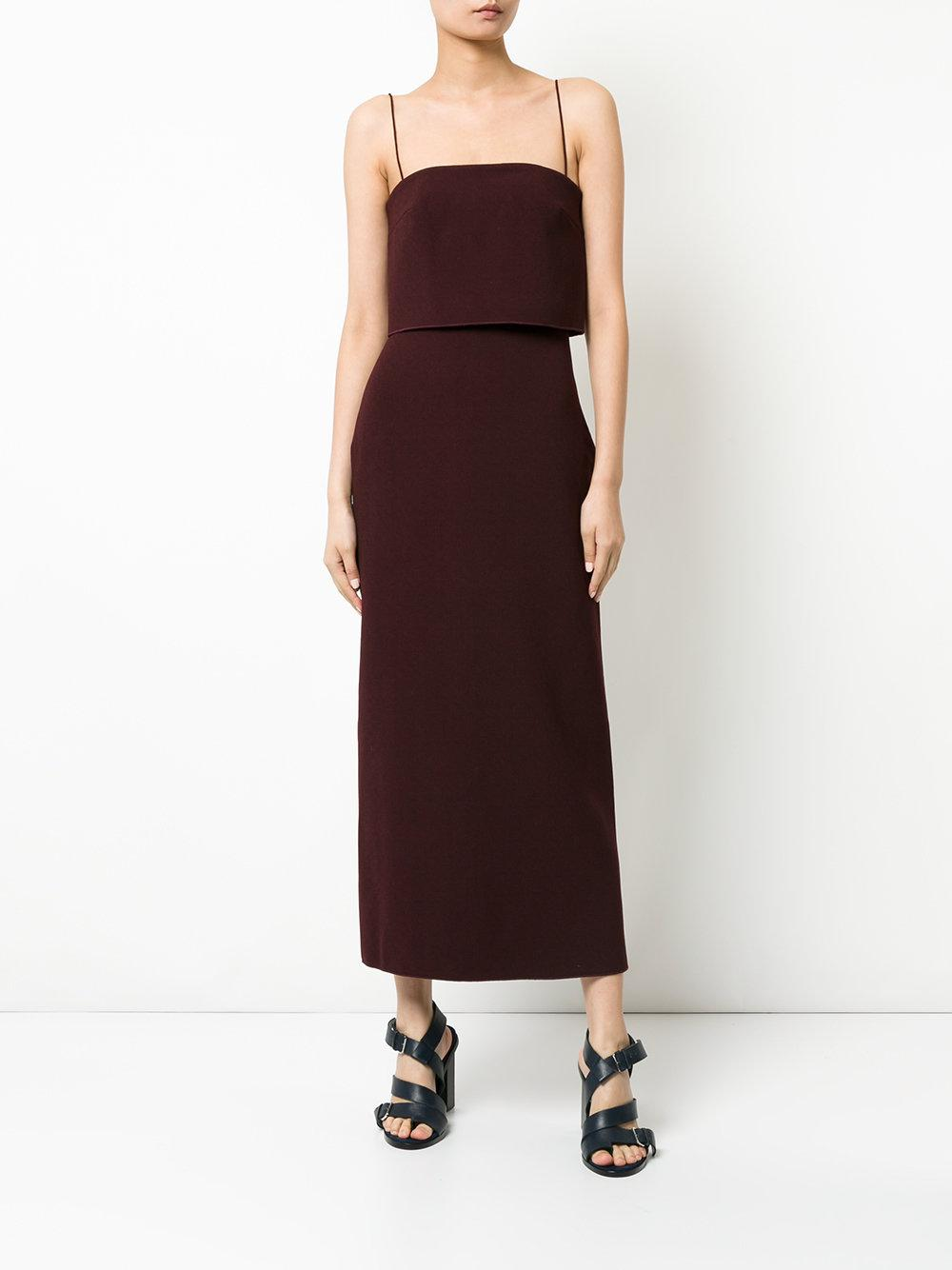 b426ca2ed0a2 Dion Lee Column Dress in Red - Lyst