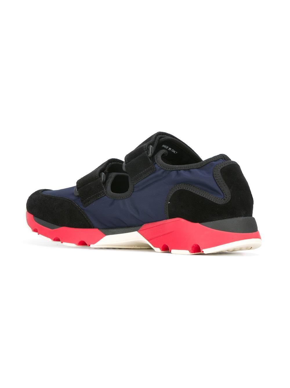 Marni Chaussures De Sport À Double Courroie Bas-top - Bleu IFxl79Yy