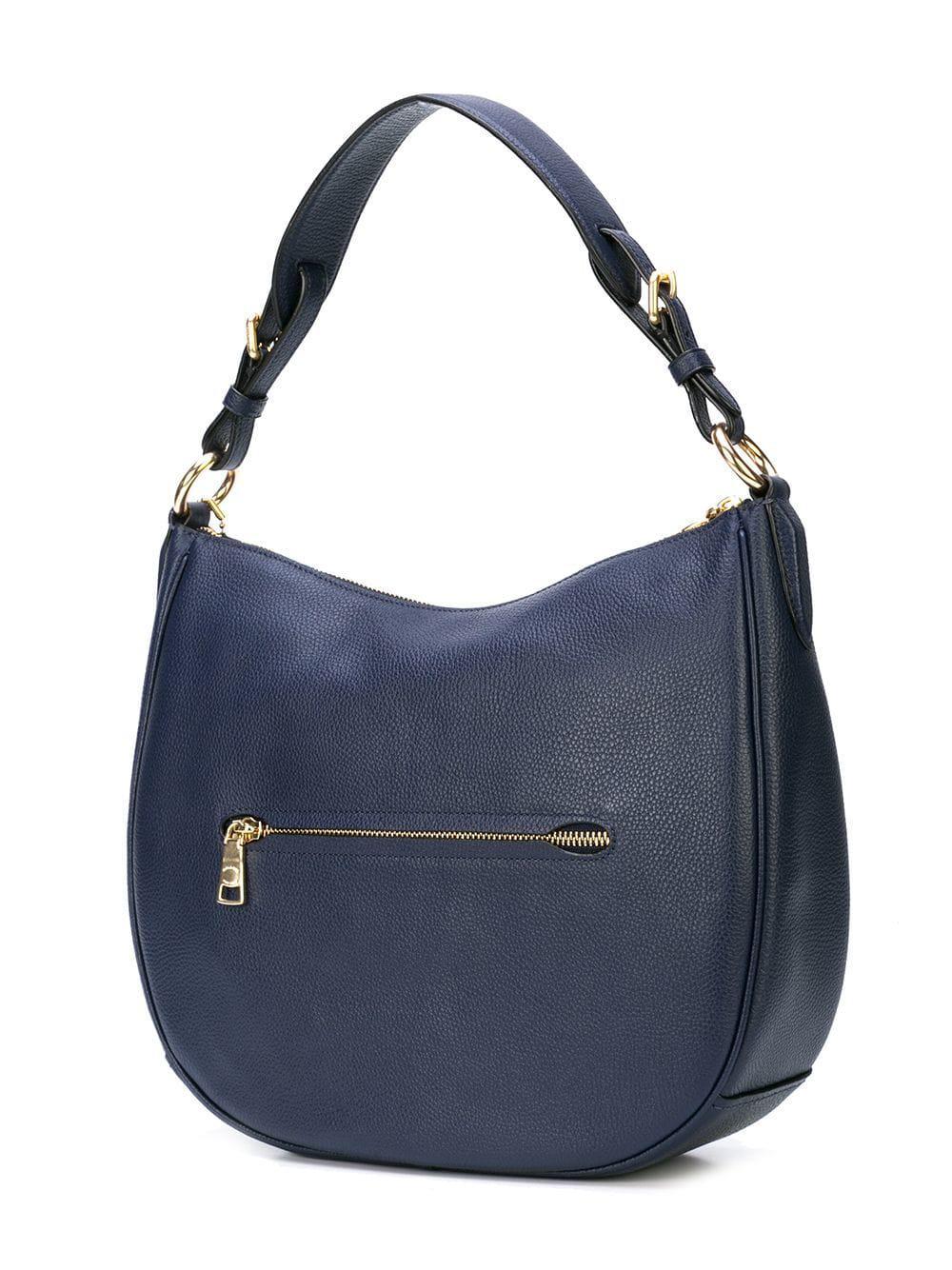 17bb51949b3 COACH Sutton Hobo Bag in Blue - Lyst