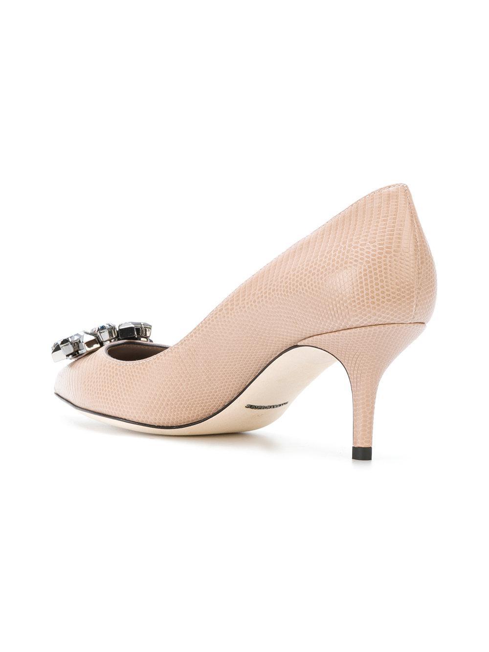 Dolce & Gabbana Pompes 'belluci' - Nude & Tons Neutres 1s7F9UGU22