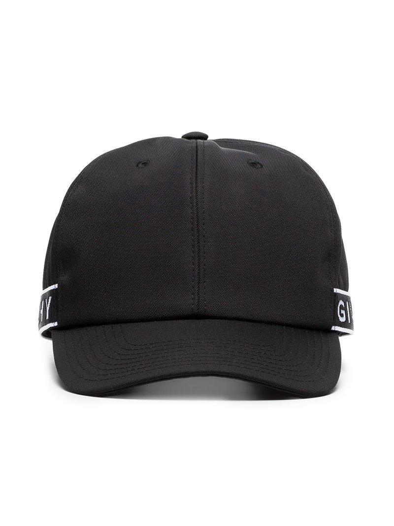 5e4cf97ff1e Lyst - Givenchy Black And White 4g Logo Baseball Cap in Black for Men