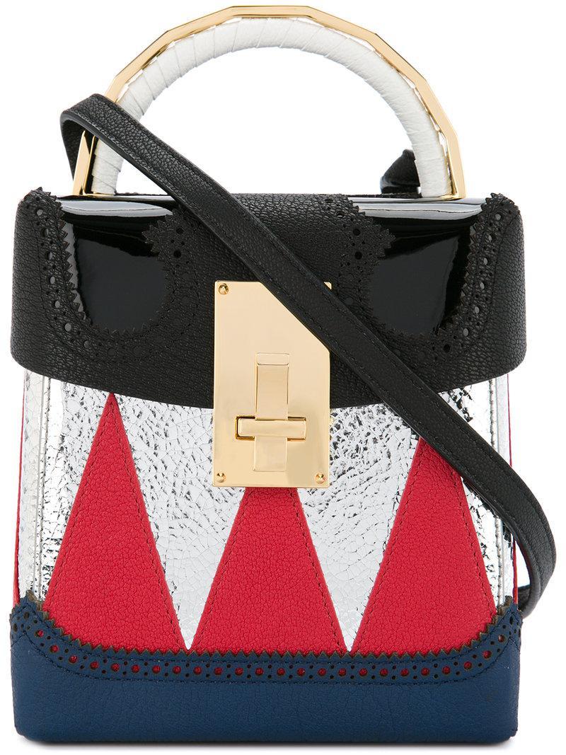 04f00cc1458c Lyst - the VOLON Box London Shoulder Bag