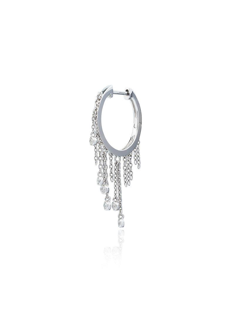 Yvonne Léon diamond creeper earring - Metallic XdbXA34V