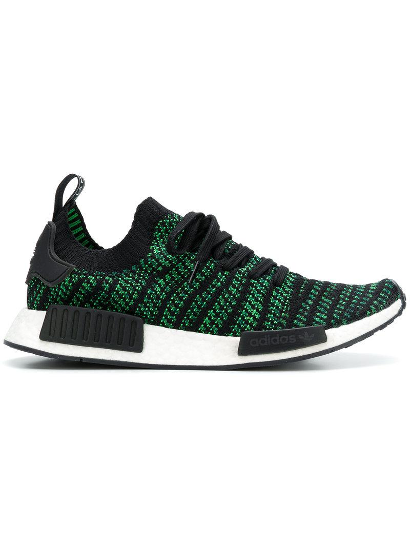 adidas Nmd R1 Sneakers in Green for Men - Lyst 18c3d62ae