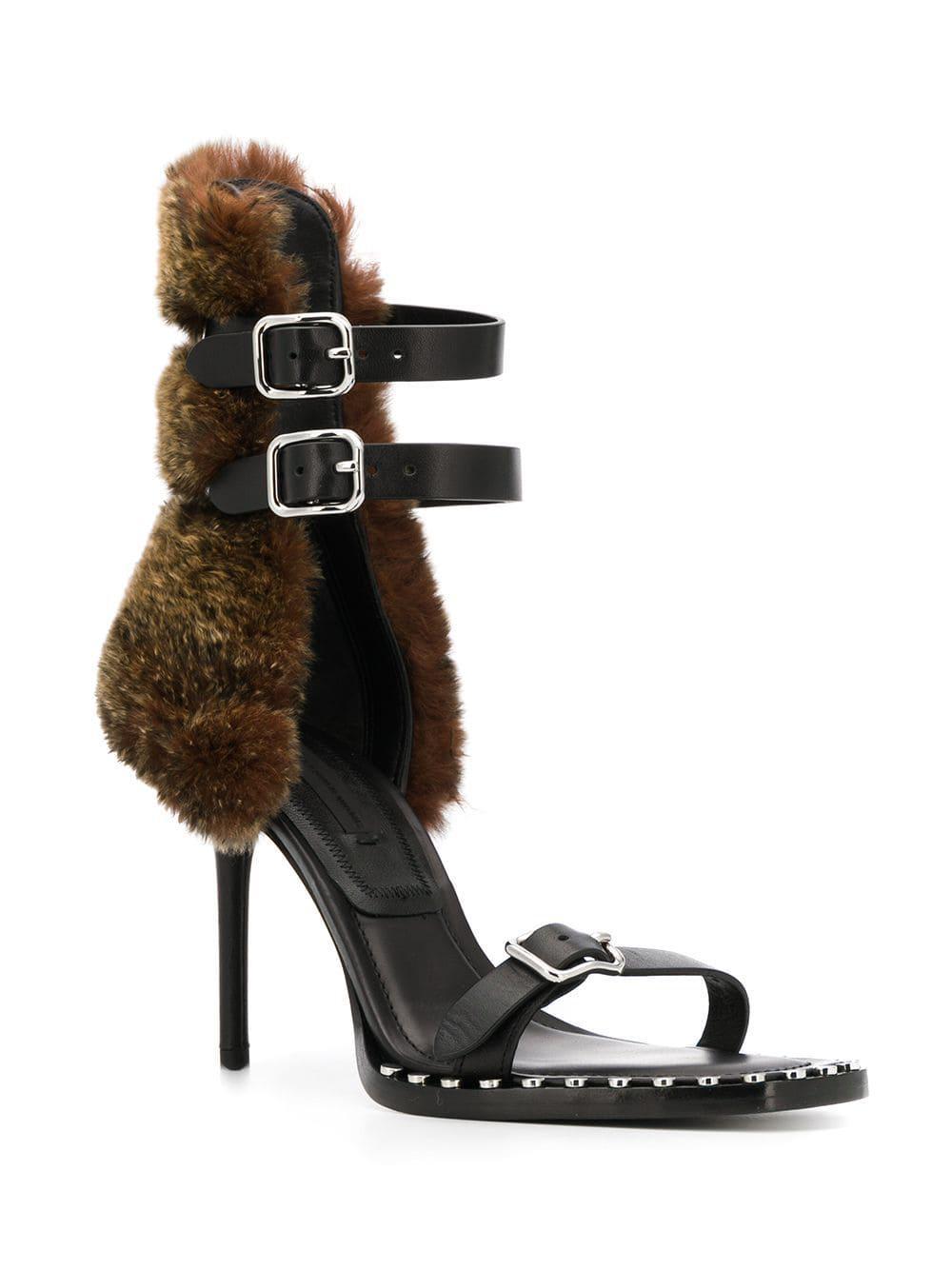 330b652037e Lyst - Alexander Wang Brea High-heel Sandals in Black - Save 47%