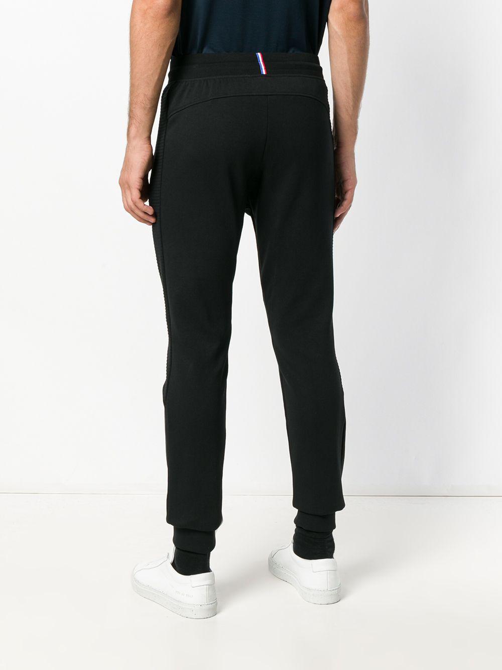 c62bf895af91 Le Coq Sportif - Black Drawstring Track Trousers for Men - Lyst. View  fullscreen