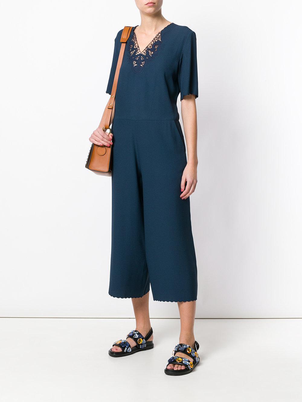 aa45e69ad8e Lyst - M.i.h Jeans Eva Jumpsuit in Blue