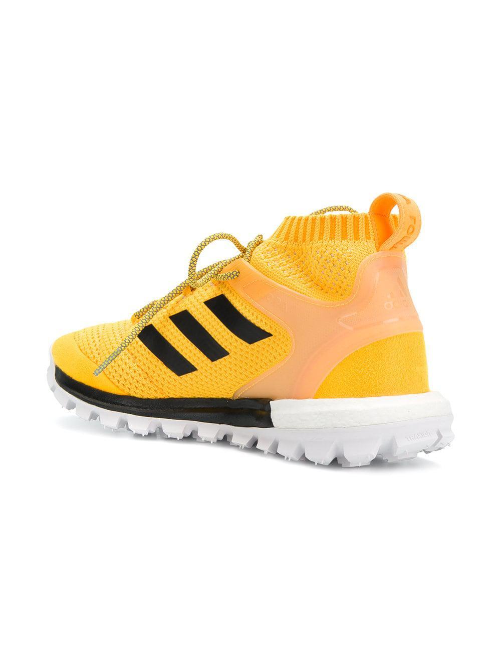 new arrival 64f46 3caf4 Gosha Rubchinskiy - Yellow X Adidas Copa Primeknit Sneakers - Lyst. View  fullscreen