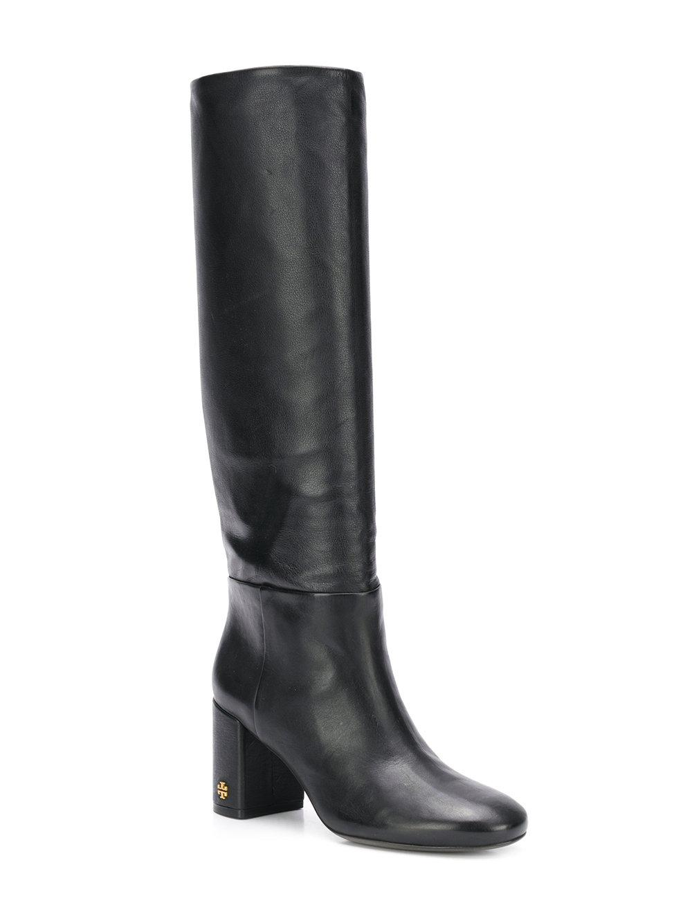 919aa89c33f2 Lyst - Tory Burch Brooke Slouchy Knee-high Boots in Black - Save 60%