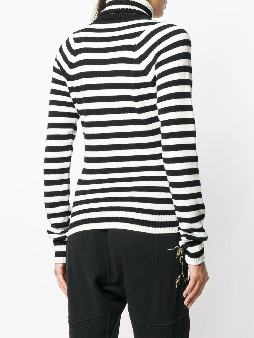 65548f6925 Haider Ackermann - White Striped Knit Sweater - Lyst. View fullscreen