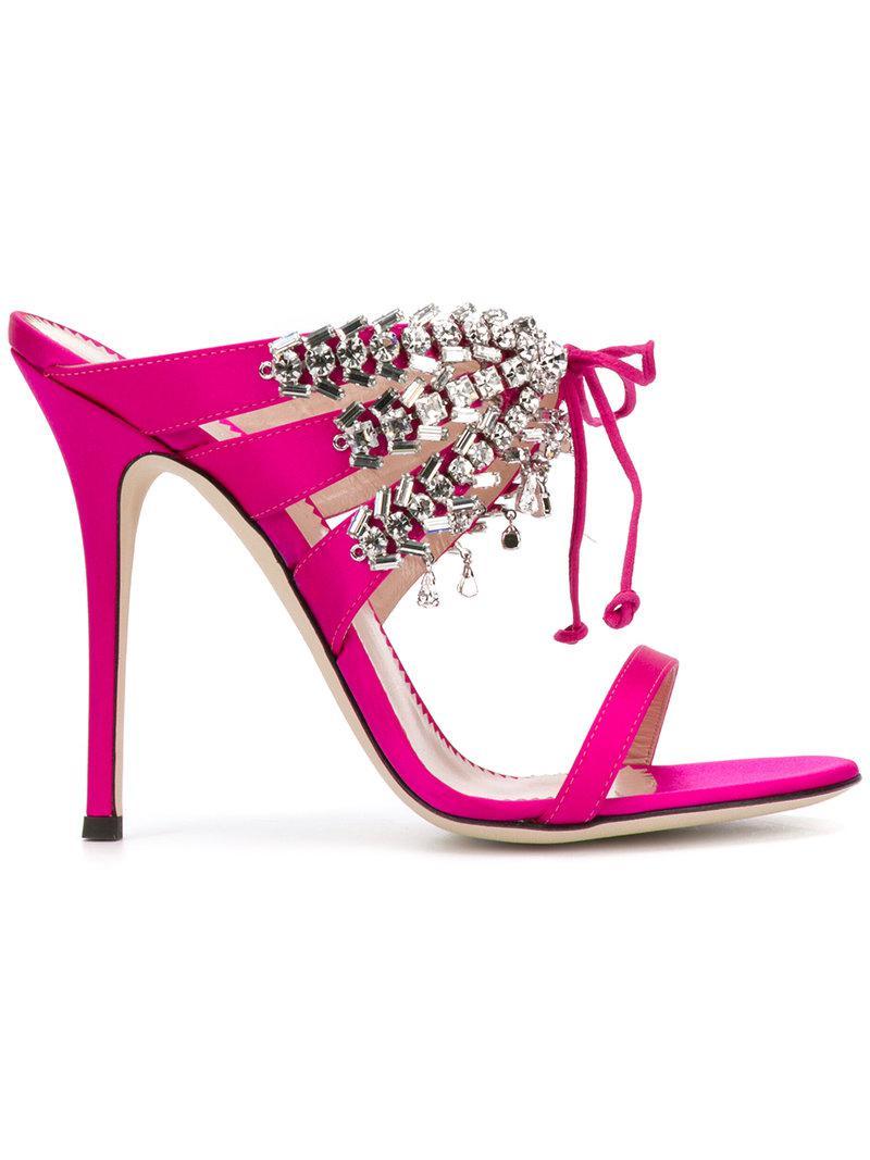 Madelyn - Pink & Purple Giuseppe Zanotti v2VnBb