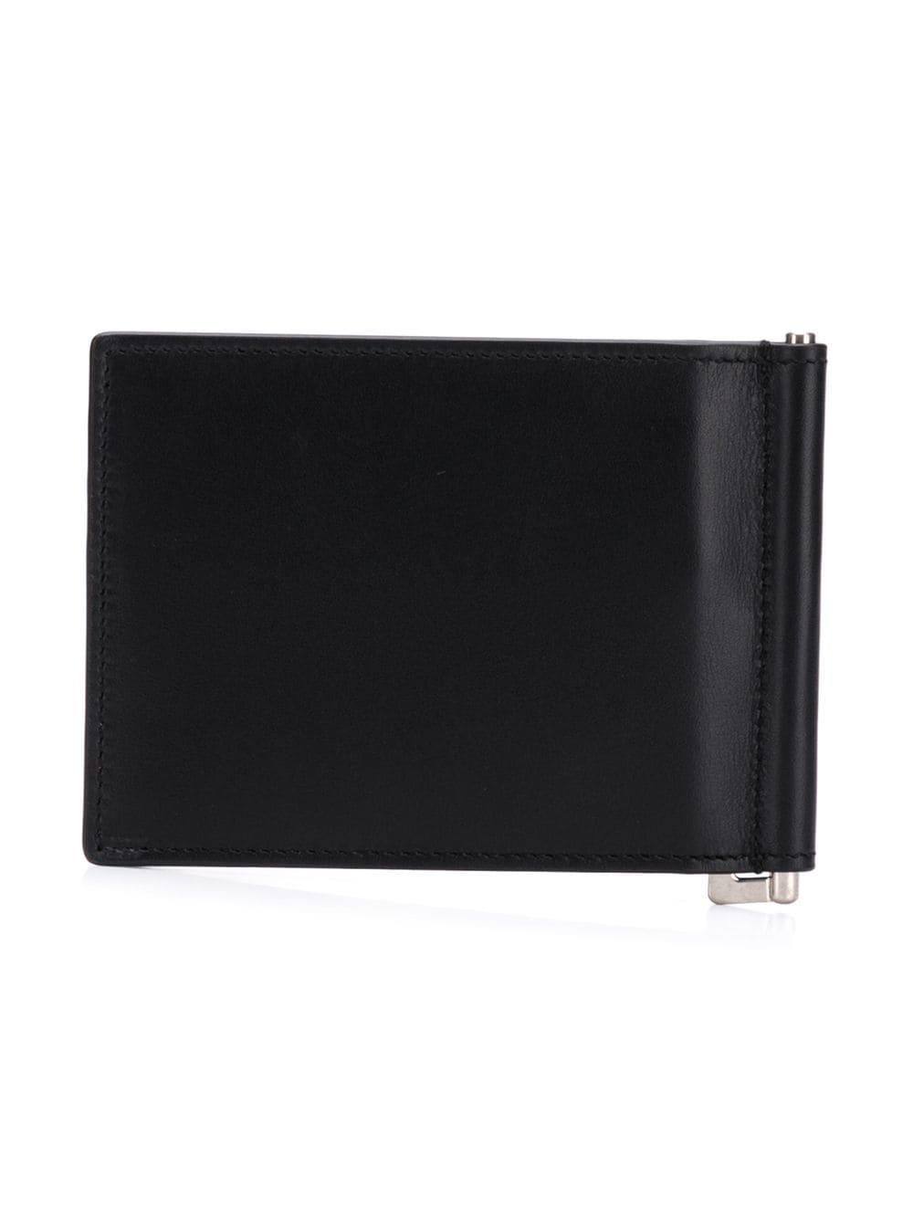 1cbf640b19 Lyst - Saint Laurent Id Bill Clip Wallet in Black for Men