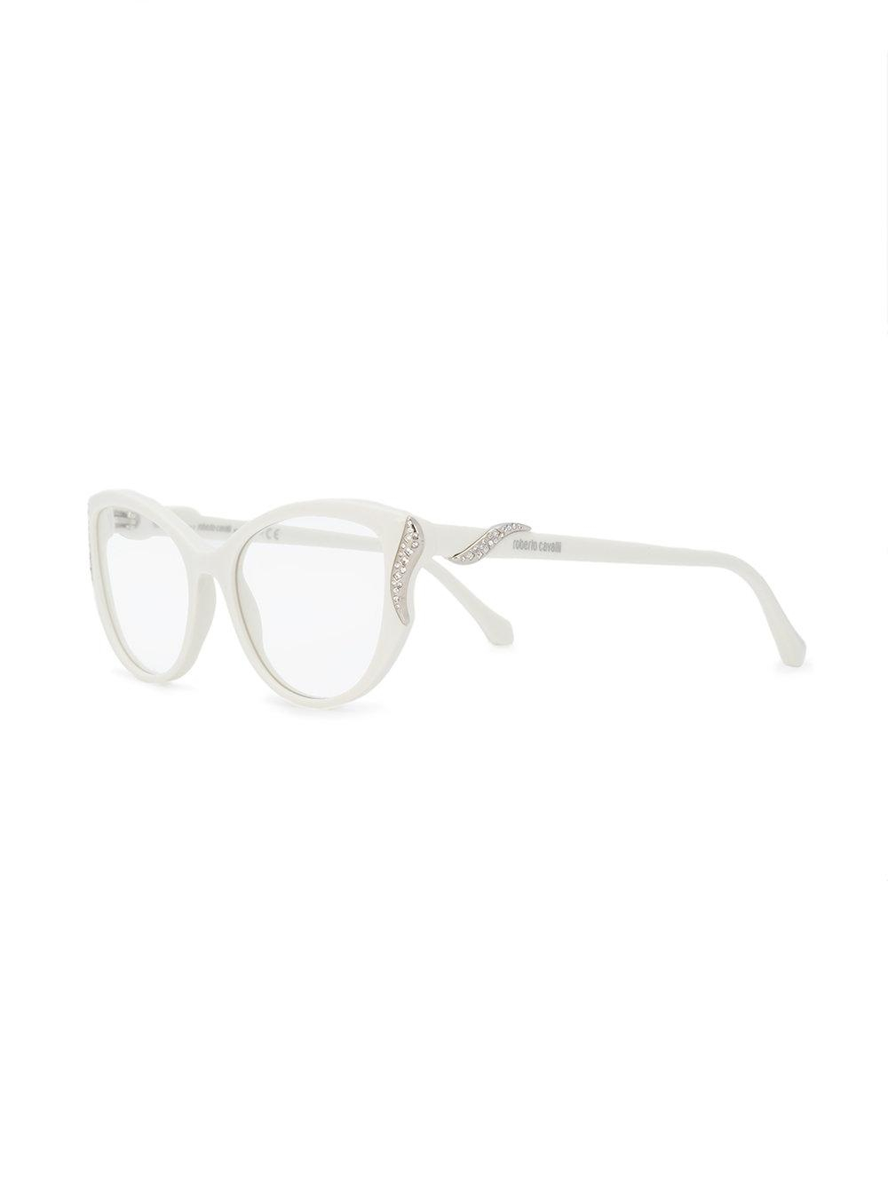 Roberto Cavalli Fosciana cat-eye frame glasses Big Sale For Sale Authentic Online High Quality Cheap Price Rt0EVbdLP
