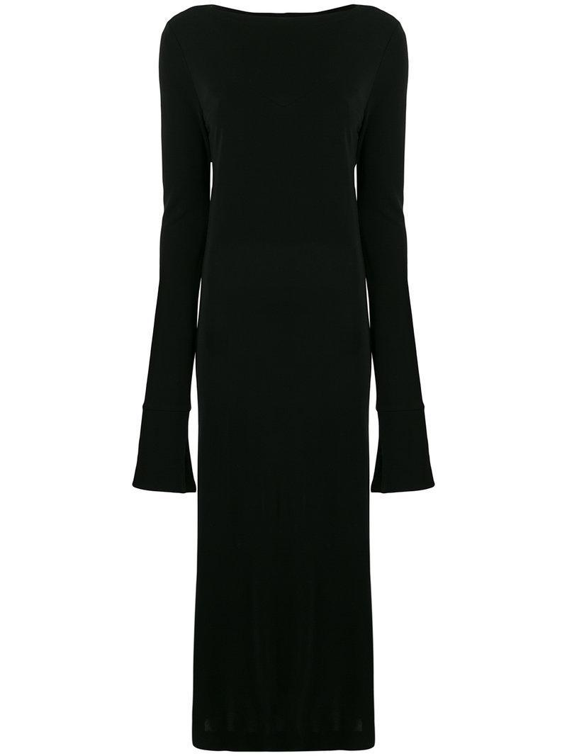 oversized midi dress - Black Maison Martin Margiela Free Shipping Amazon Buy Online Cheap rryQd0