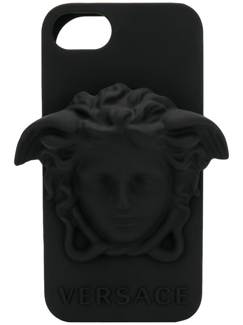 9c08069098 Noir Versace D'iphone Pour Coloris En 78 Lyst Homme Coque Medusa SIxwzn5q1
