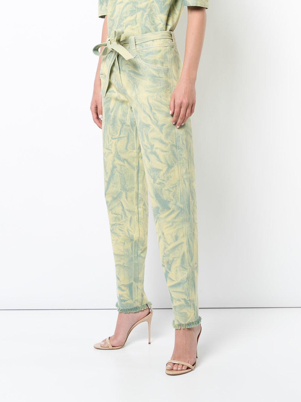 Peridot trousers - Yellow & Orange Veronique Leroy 7EiqhSL