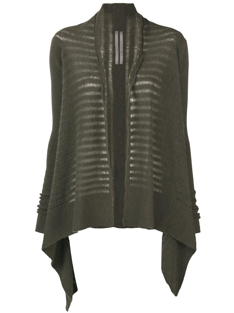 Discount Wholesale medium wrap cardigan - Green Rick Owens Outlet Store For Sale Pick A Best Discount Pre Order Pick A Best 0E2WS