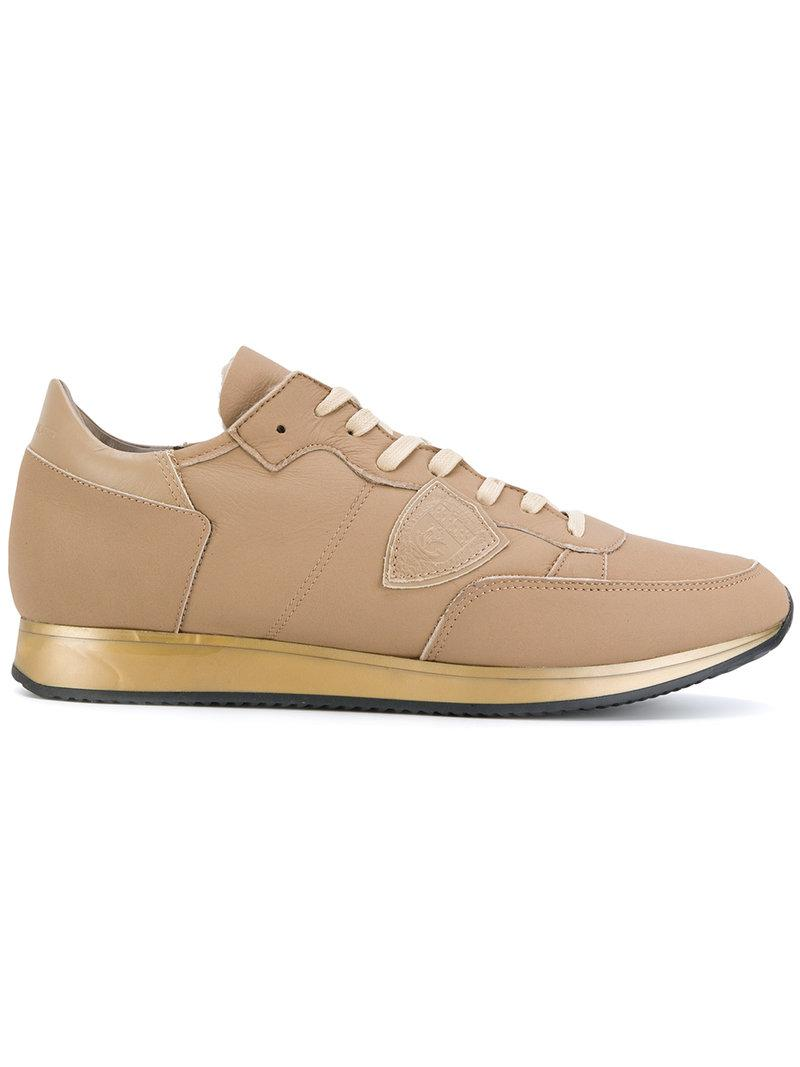 Quality Free Shipping Outlet low-top sneakers - Brown Philippe Model Discount New Styles pqn8Ai88y