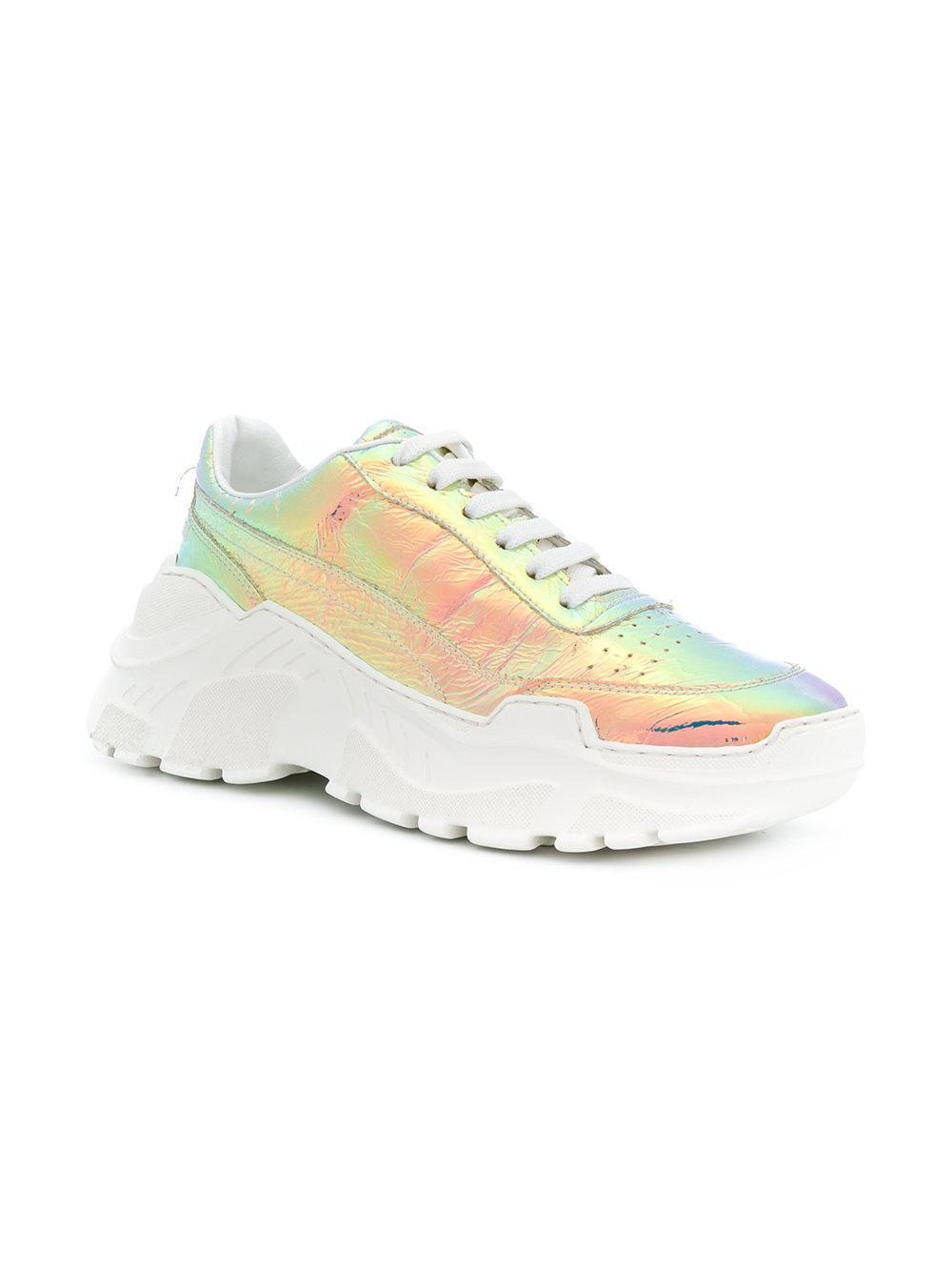 Joshua Ponceuses Chaussures De Sport D'hologramme Zénithal - Métalliques Quua2