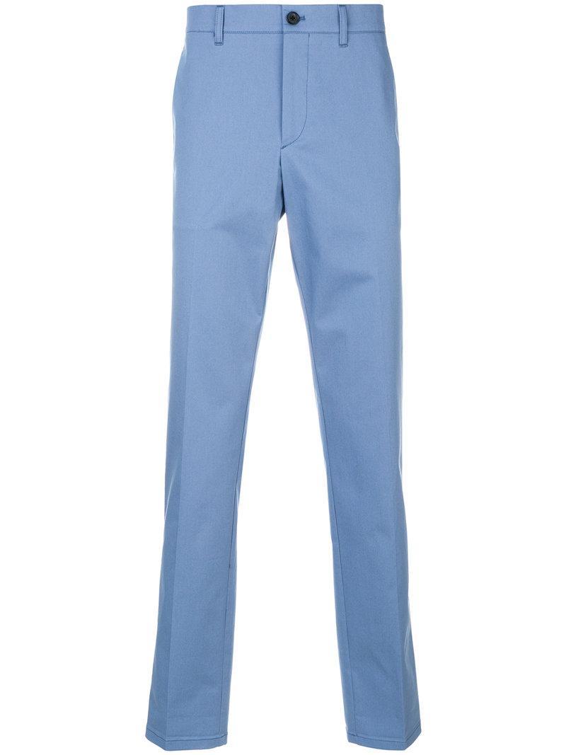 classic straight leg chinos - Blue Prada liglvQt2NR