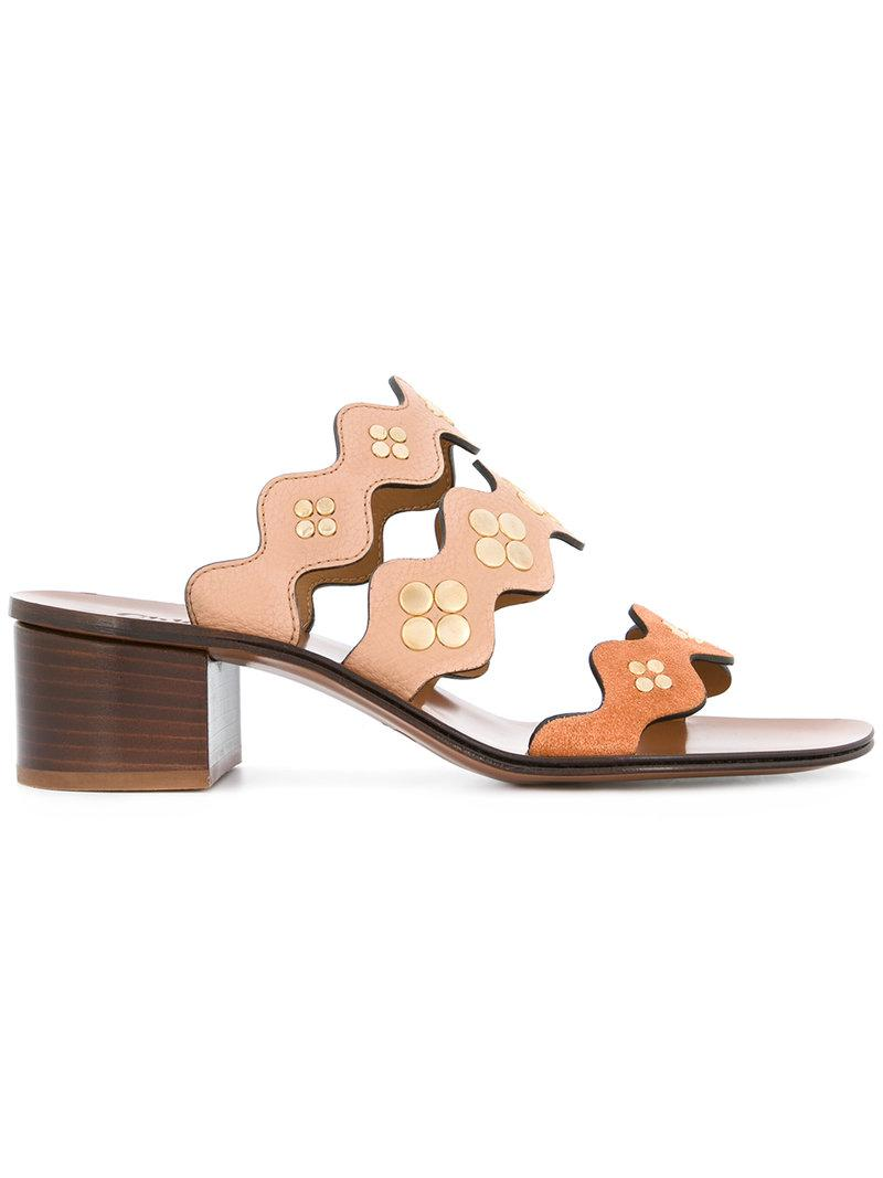 Lauren sandals - Brown Chloé Ffnt9Qu