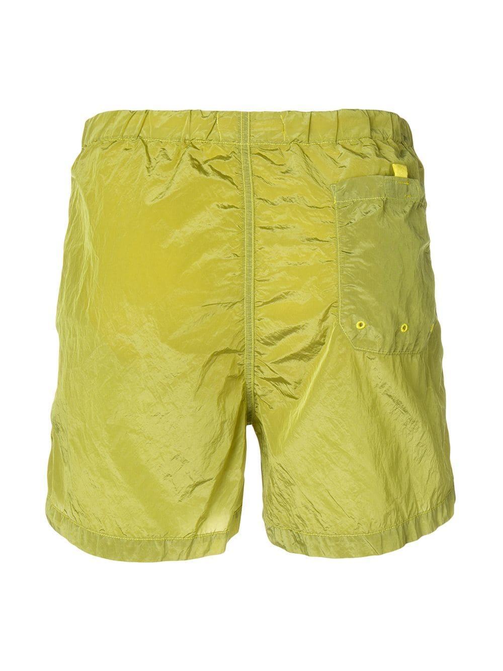 73751b8c4c8f6 Stone Island Drawstring Waist Swimming Shorts in Green for Men - Lyst