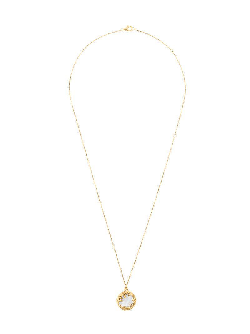 The Medley Institute V11-05 necklace - Metallic Wp13kE5