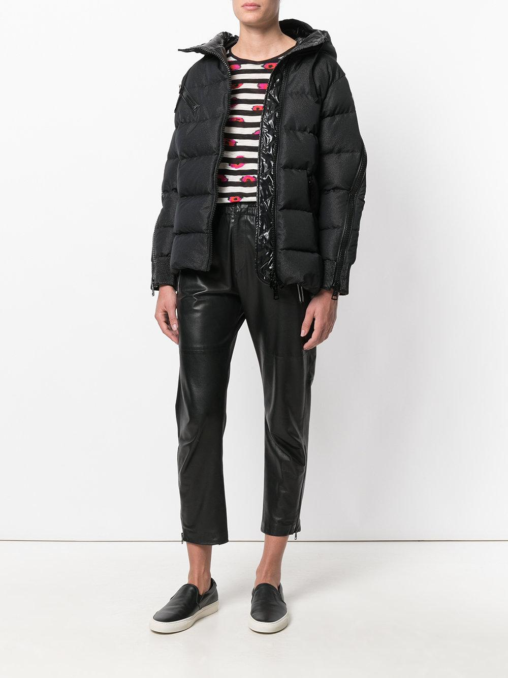 Lyst Moncler Classic Puffer Jacket In Black