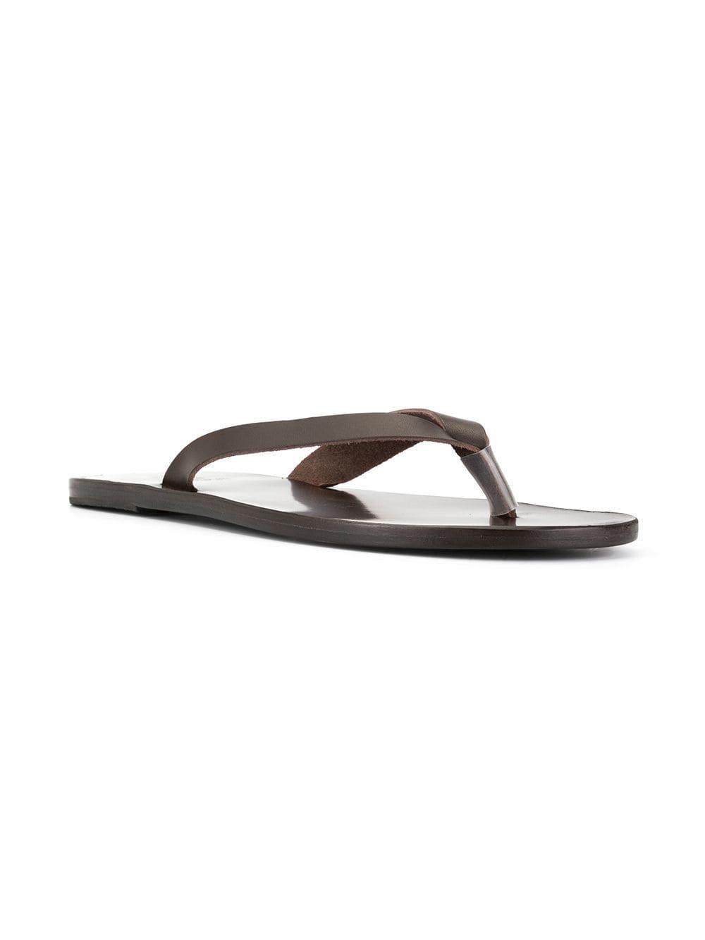 c8f868135386b0 Ancient Greek Sandals - Brown Hero Sandals for Men - Lyst. View fullscreen