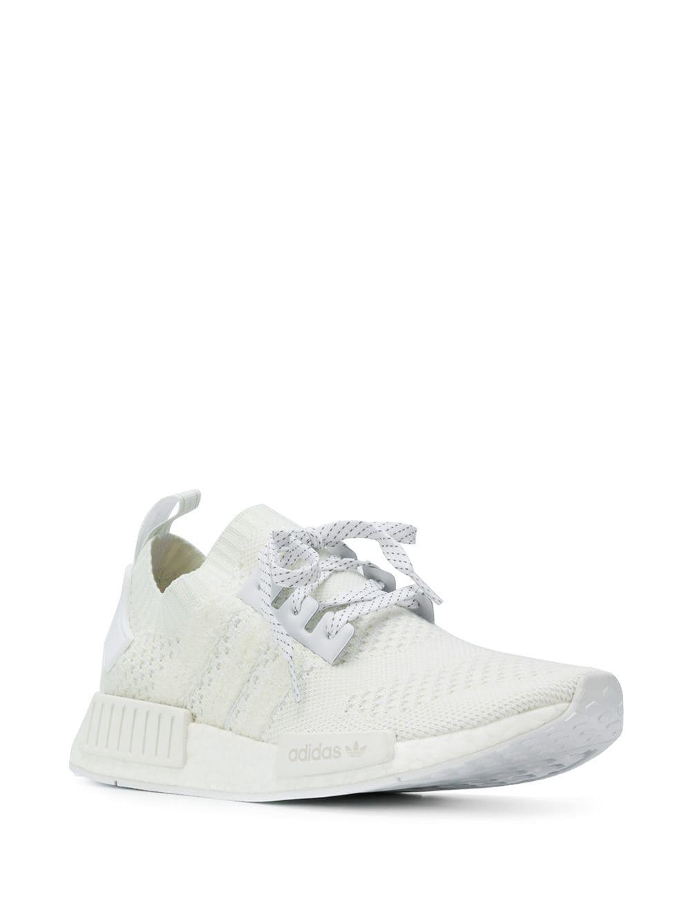 0a9538b869d71 Lyst - adidas Nmd R1 Sneakers in White for Men
