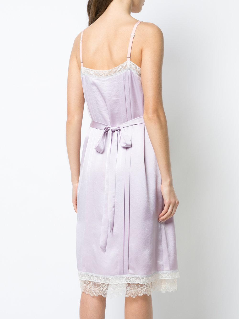 0d4c0c9afc3ca COACH Prairie Rivets Slip Dress in Purple - Lyst