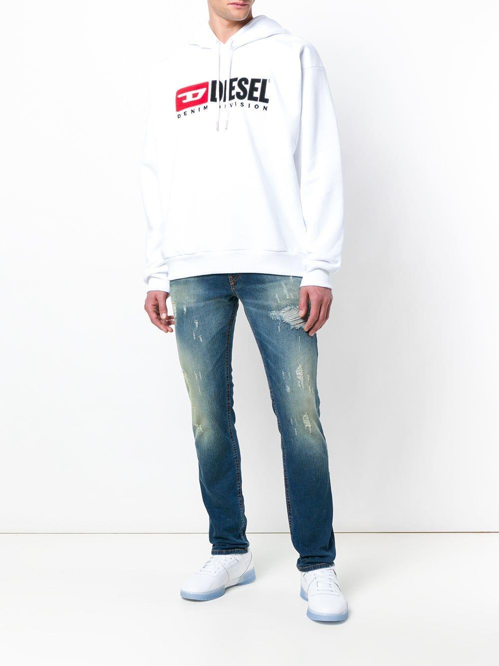 7df01ff7 Lyst - DIESEL Thommer 084uw Jeans in Blue for Men