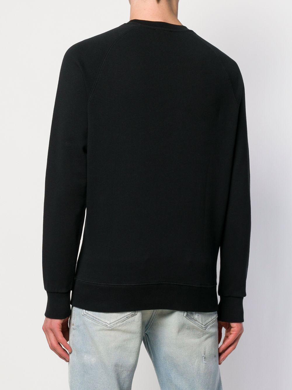 67c45d4e5a51 Lyst - Maison Kitsuné Palais Royal Sweatshirt in Black for Men
