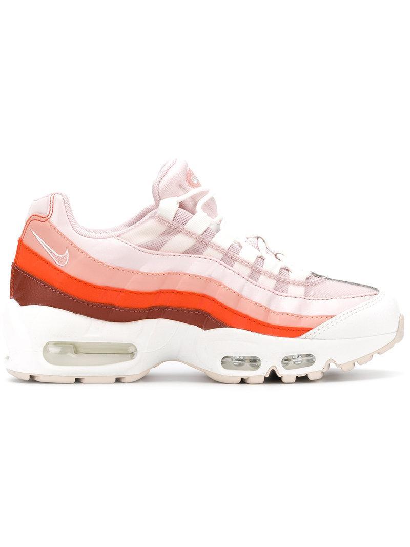Lyst Nike Air Max 95 Sneakers in Pink